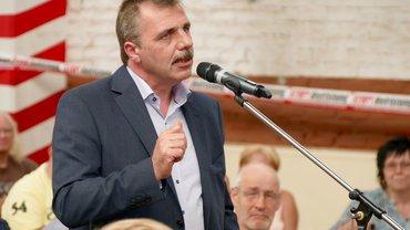 Betriebsratsvorsitzender Uwe David