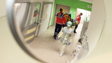 Krankenhaus in Not