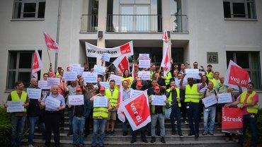 Warnstreiks T-Systems in Bonn am 12.07.2018
