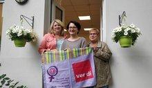 Spendenübergabe ans Frauenhaus Oberhausen