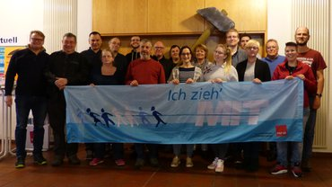 Der ehrenamtliche Vorstand des BzFB 9 Rhein-Ruhr