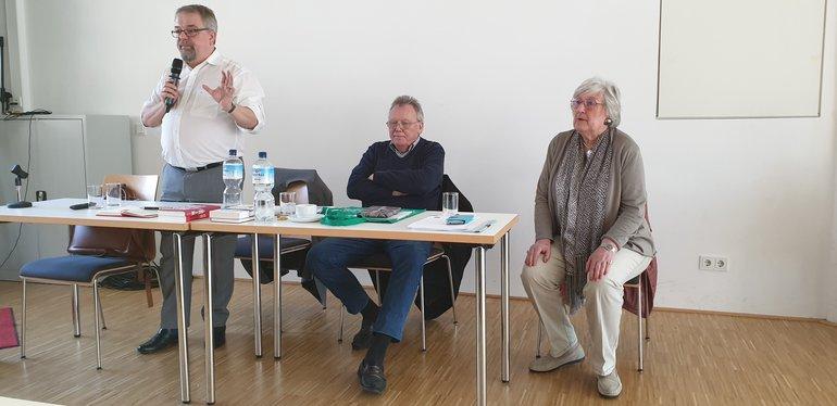 Jens Geier und ver.di Senioren