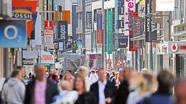 Hohe Straße in Köln – jetzt geht's wieder los
