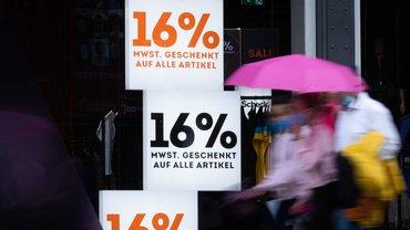 Die Mehrwertsteuersenkung bringt nicht den erwarteten Kaufrausch