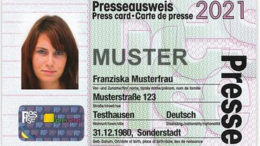 Presseausweis 2021