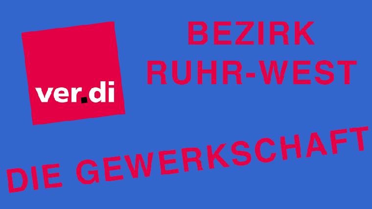 Bild Gewerkschaft ver.di Bezirk Ruhr-West