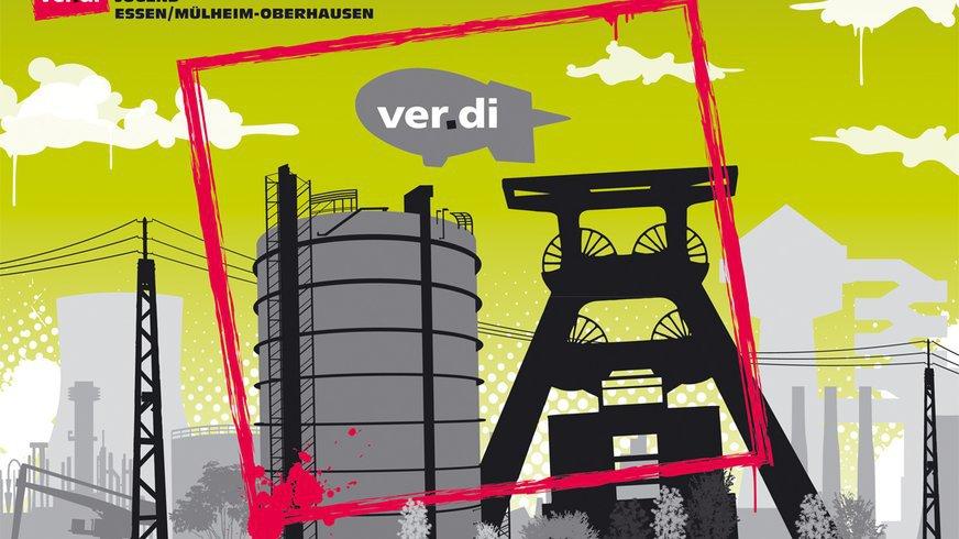 Grafik ver.di Jugend Ruhr-West