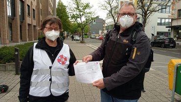 Volksinitiative Petra Stanius und Detlef Witt